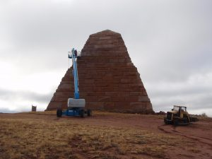 Ames Monument Restoration